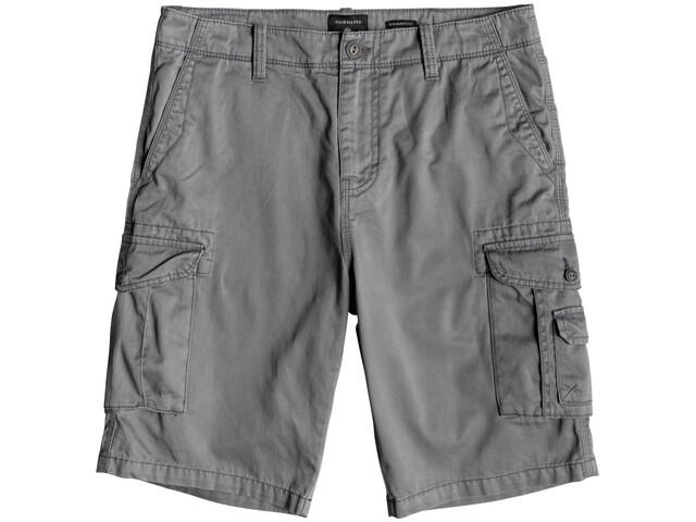 Quiksilver Crucial Battle Pantalones Cortos Hombre, gris